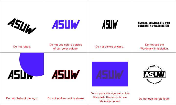Logo Restrictions
