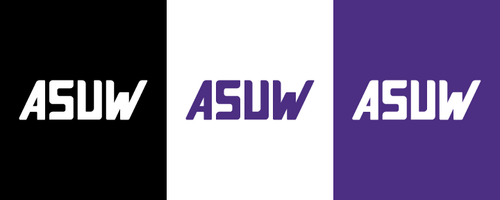 Variations of the ASUW Logo